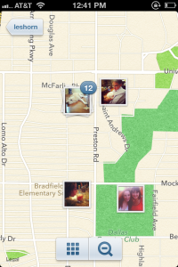 Mapas no Instagram 3.