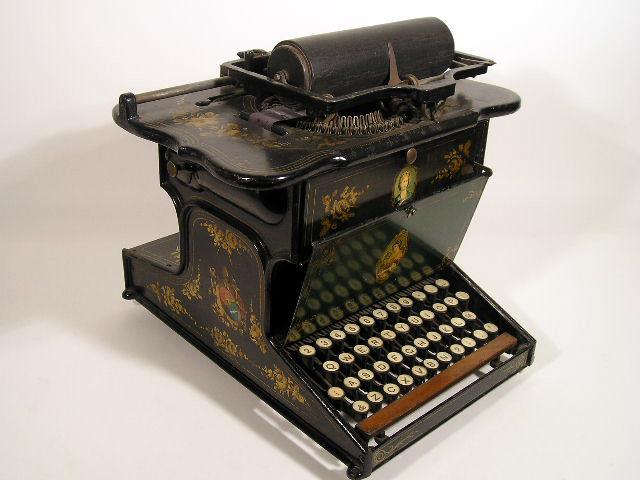 Scholes and Glidden Typewriter