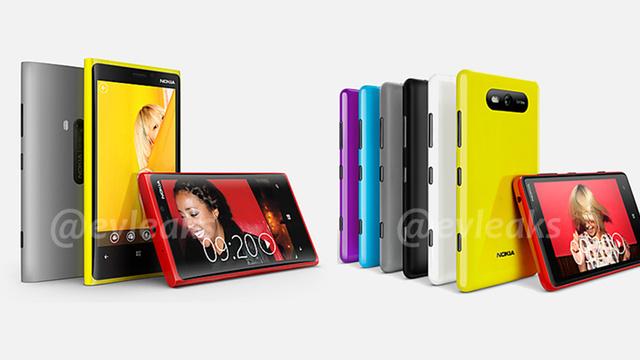 Novos Lumias, da Nokia, vazam no Twitter.