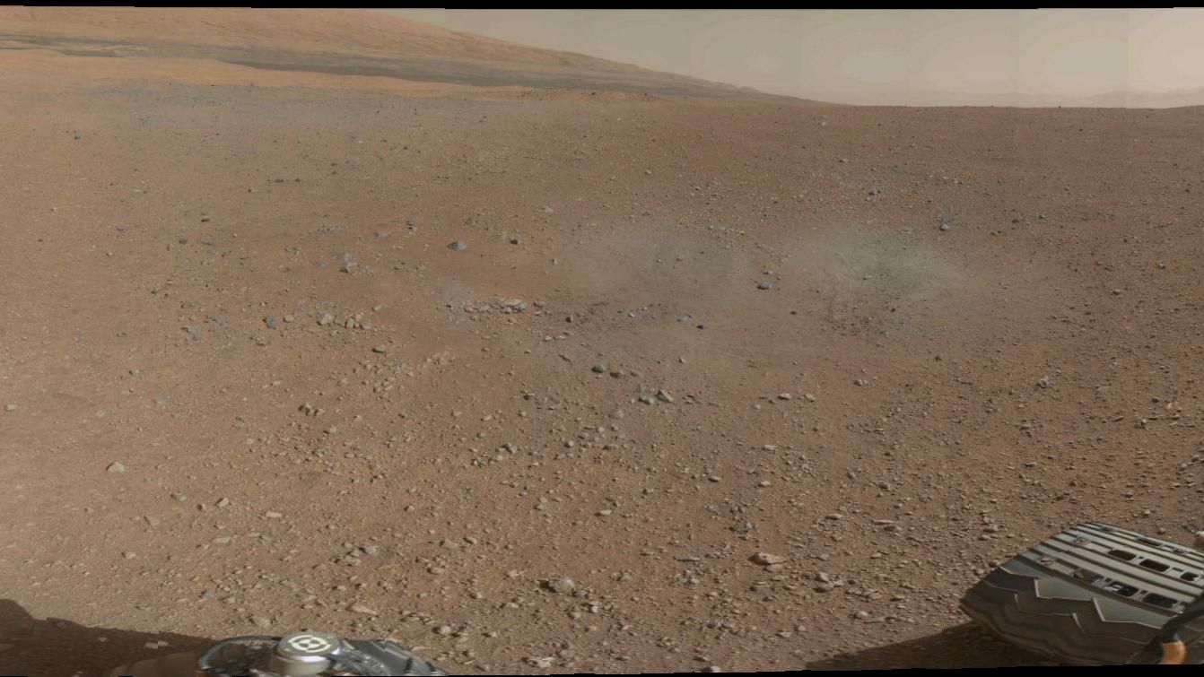 Panorama de Marte.