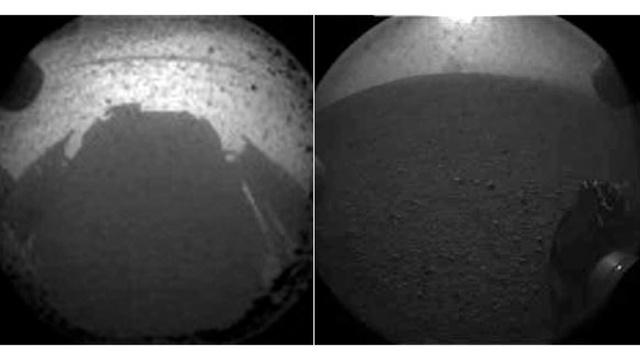 Primeira foto de Marte.