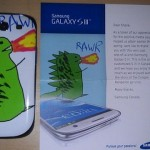 RAWR! Galaxy S III personalizado.