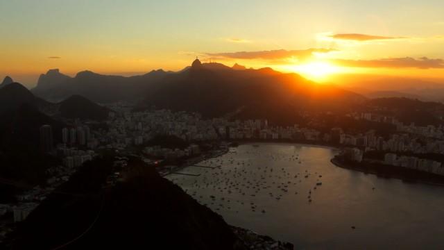 Time lapse do Rio de Janeiro.