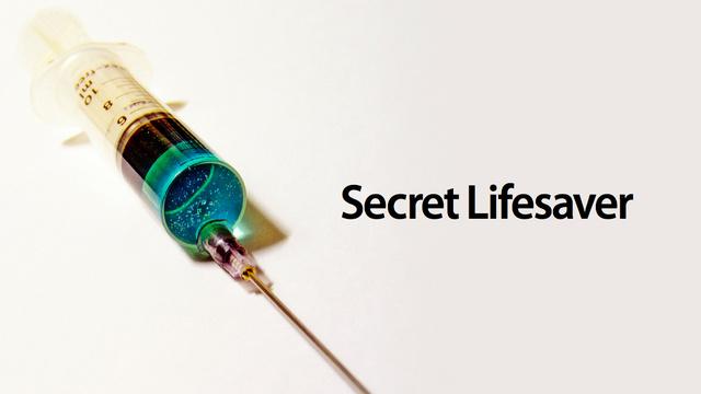 A vacina salva-vidas.