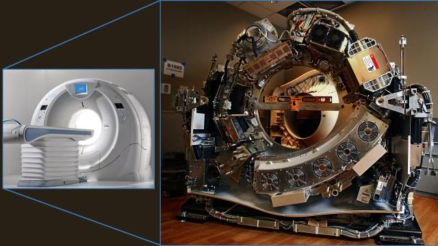 Scanner de tomografia descoberto.