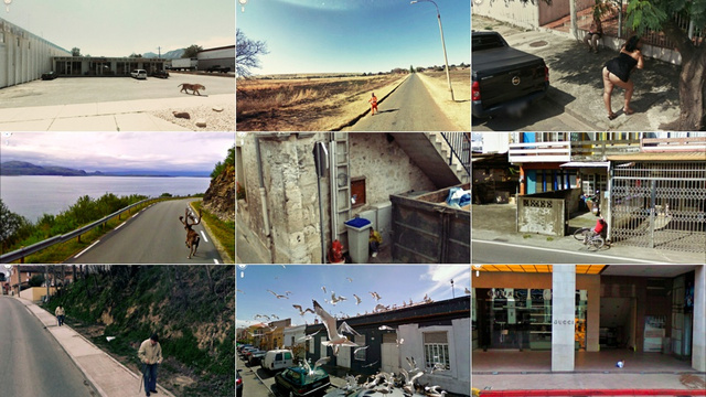 Google Street View estranho.