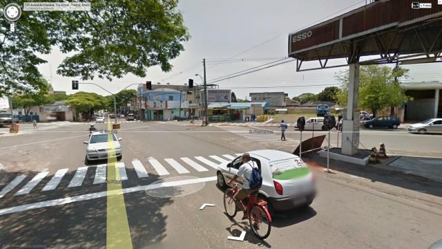 Street View ganha o Brasil.