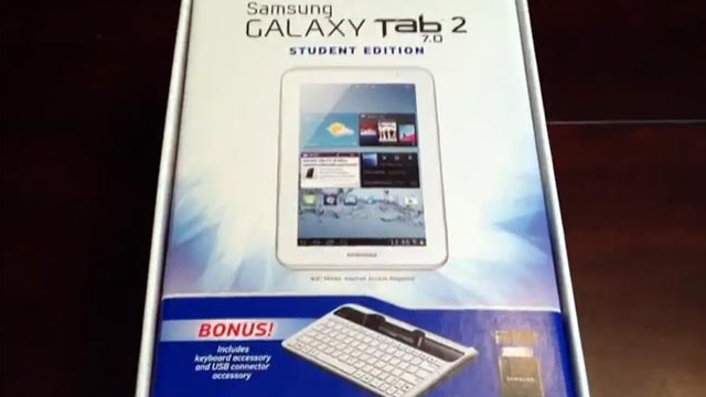 Samsung Galaxy Tab 2 7.0 Student Edition Bundle