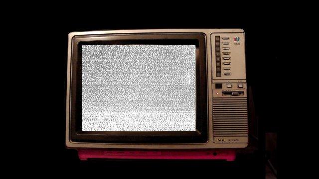 TV velha.