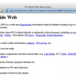Este é o primeiro website já feito