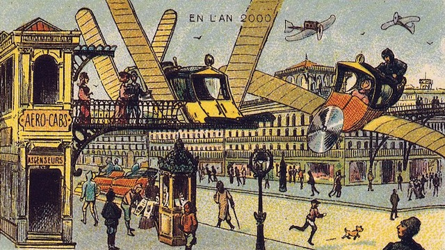 Acho que toda geração sonha com o carro voador.