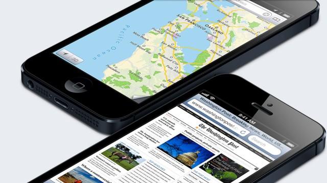 iPhone 5 pelo mundo.