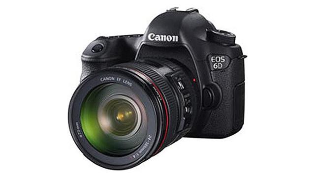 Canon 6D.