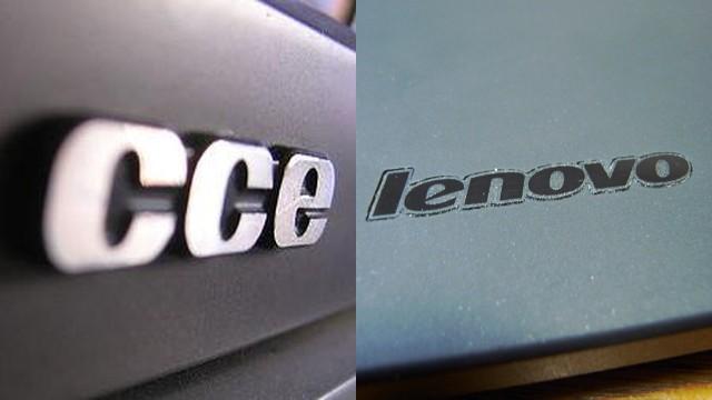 CCE e Lenovo.