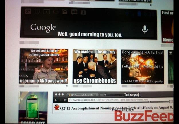 Fizemos todos os estagiários usarem Chromebooks.