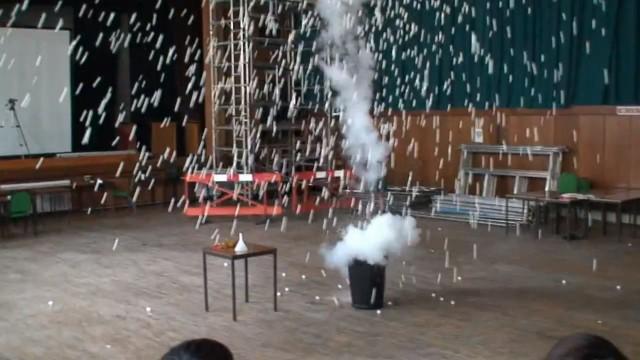 Explosão de bolinhas.