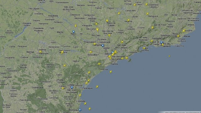Flight Control, digo, FlightRadar24.