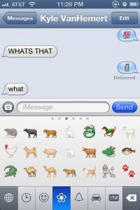 Novos emojis.