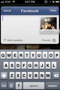 Facebook no iOS 6.