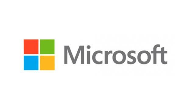 Novo logo da Microsoft.