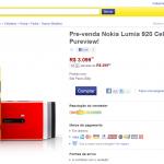 Lumia 920 no Mercado Livre