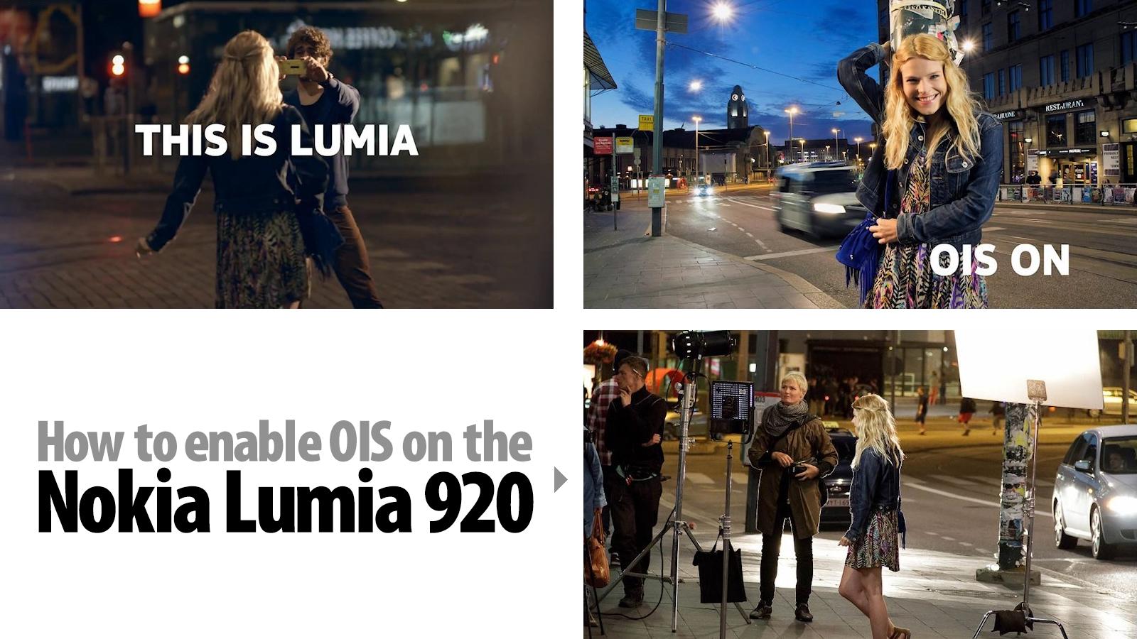 Estabilização no Lumia 920: você está fazendo errado.