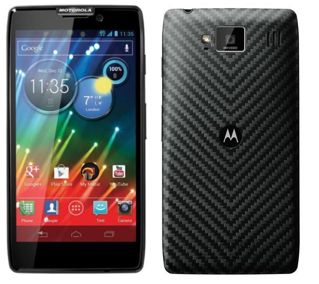 razr hd1 - Motorola lança RAZR HD: o primeiro smartphone 4G do Brasil