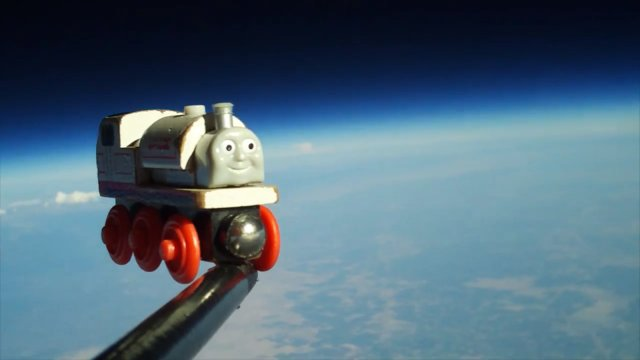 Stanley no espaço.
