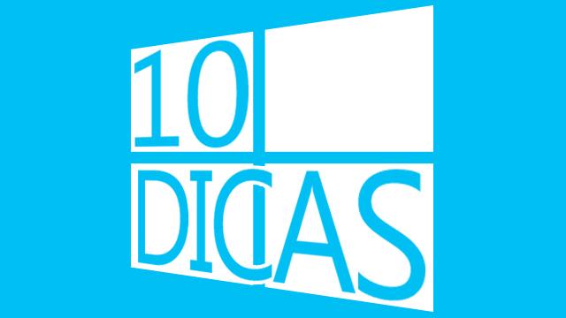10 dicas para o Windos 8