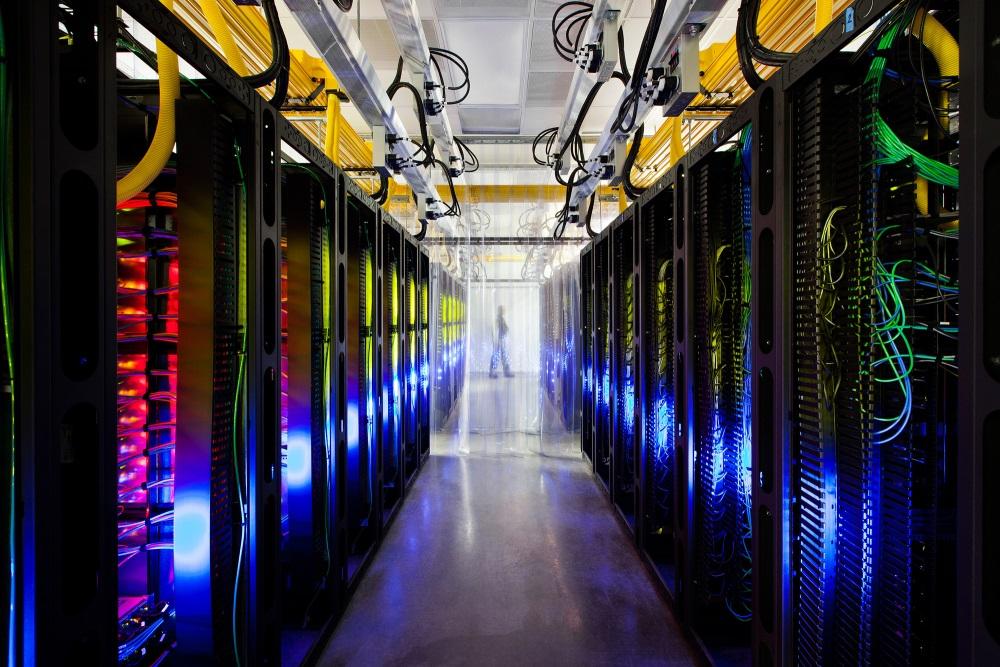 Por dentro dos data centers do Google