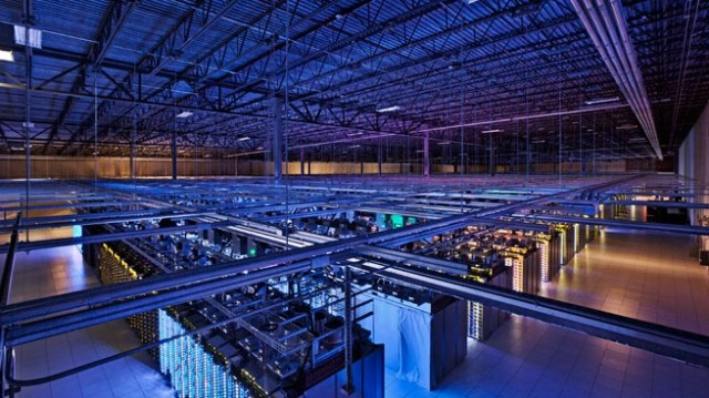 Por dentro dos data centers do Google