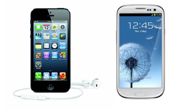 Apple x Samsung: iPhone 5 e Galaxy S III
