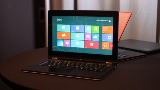 Lenovo Yoga 11, ultrabook-híbrido com Windows RT.