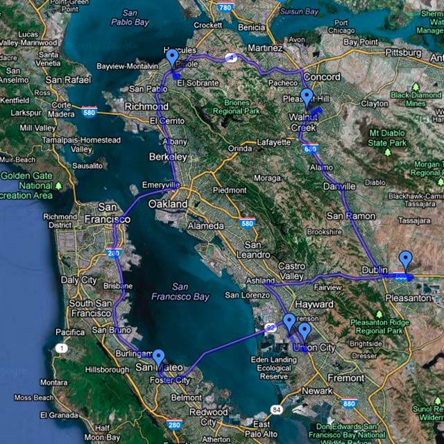 341 km atrás de HDs externos.