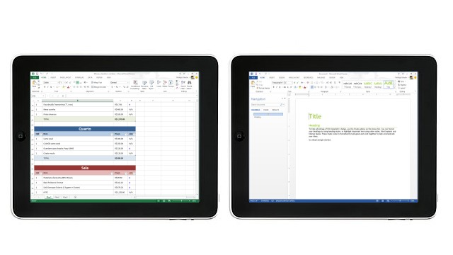 Office no iPad? Em março, segundo a Microsoft checa.