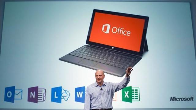 Office em tablets.