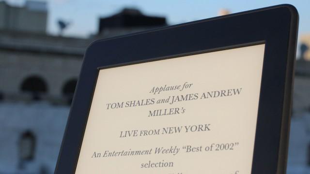Kindle Paperwhite - tela