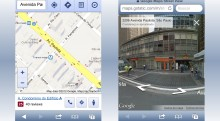 Street View no navegador do iOS 6