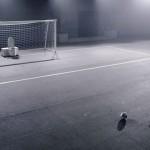 A privada que defende o gol
