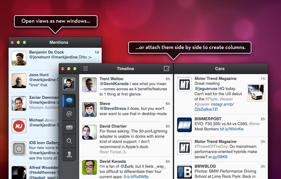 Tweetbot no OS X.