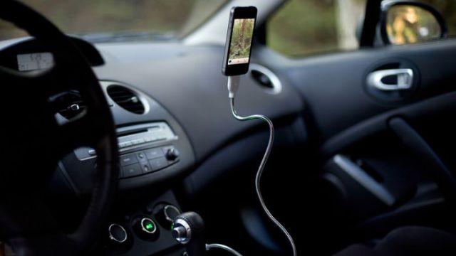 iPhone voador.