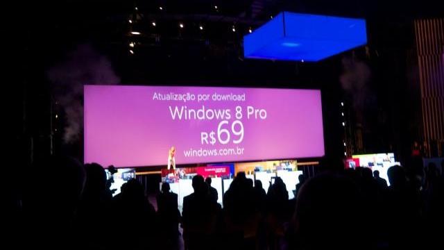 A Microsoft prometeu R$ 69.