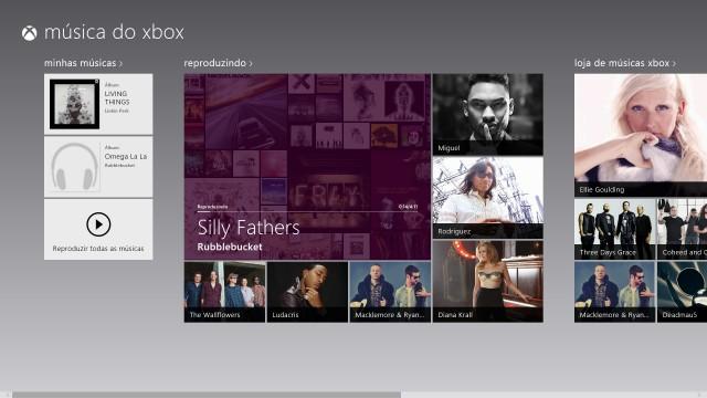 Xbox Music a todo vapor no Windows 8.