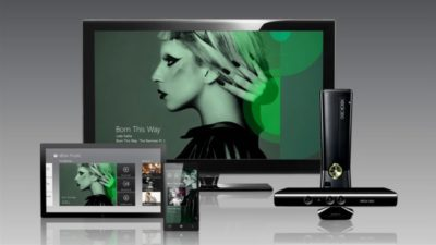 Xbox Music no Brasil.