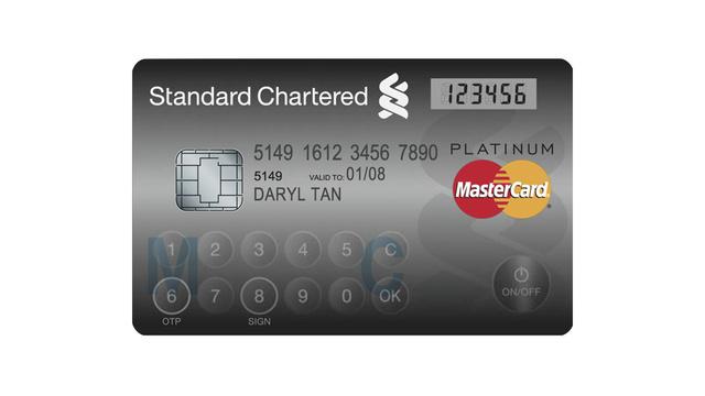 MasterCard Display