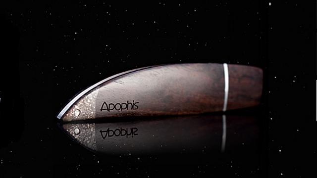 Pen drive de luxo da Zana Design.