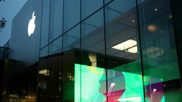 Apple Store em Pequim.