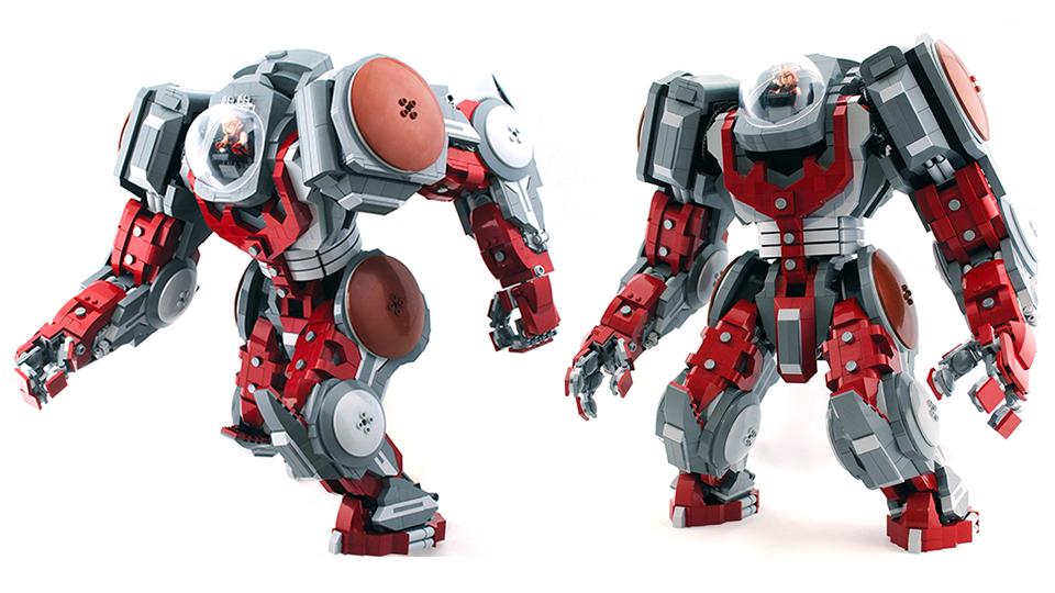 Atlas, o super robô Lego.