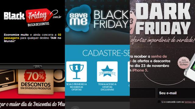 Black Friday brasileira em 2012