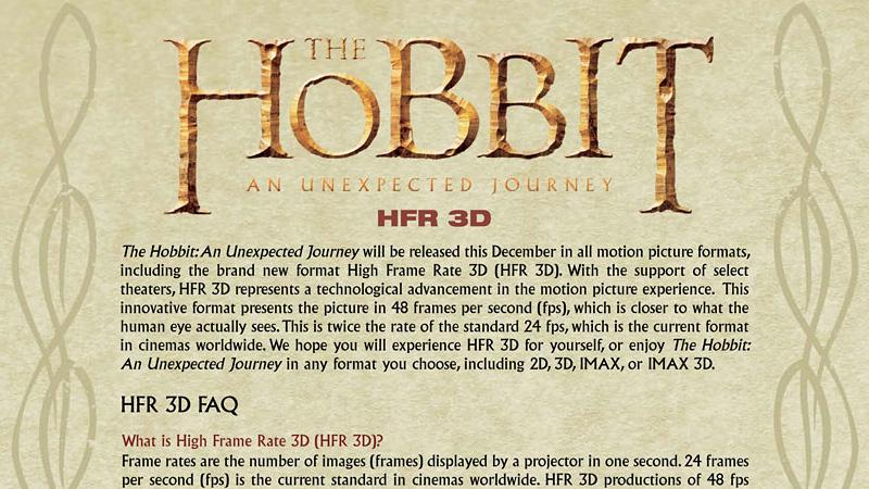 Explicação sobre o visual estranho de O Hobbit.